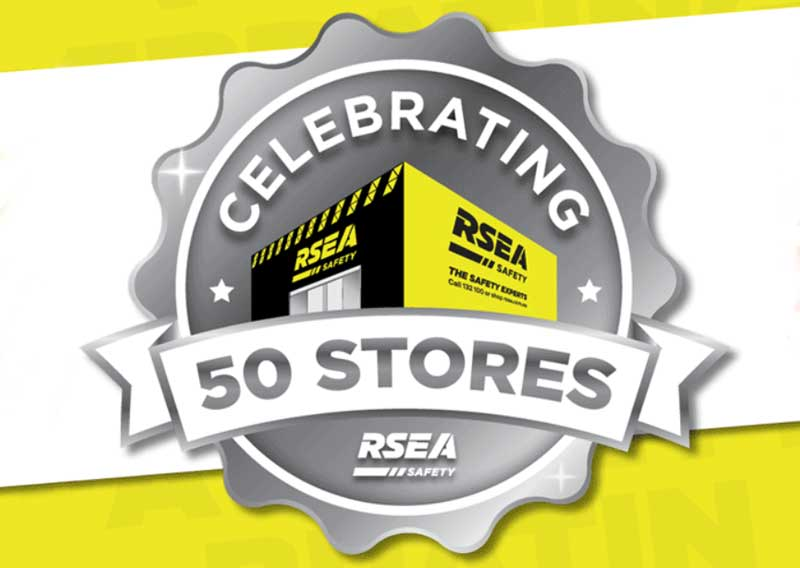 Celebrating 50 RSEA Safety Stores