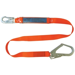 SpanSet® ERGO Energy Absorbing Lanyard With Scaffold Hook 3055
