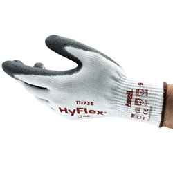 Ansell HyFlex® C5 Palm Dipped Medium Duty Gloves