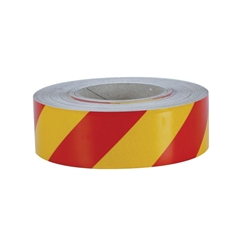 3M™ Adhesive Red/Yellow Reflective Tape (Per Metre)