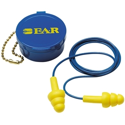 3M™ E-A-R™ UltraFit™ 340-4002 18dB CL3 Corded Earplugs w/ Carry Case