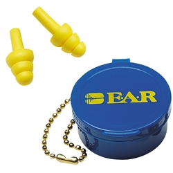 3M™ E-A-R™ UltraFit™ 340-4001 18dB CL3 Unorded Earplugs w/ Carry Case