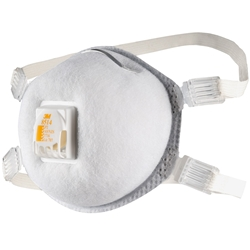 3M™ 8514 P2 Valved Cupped Welding Particulate Respirator w/ Nuisance Level* Organic Vapour Relief (Bx 10)