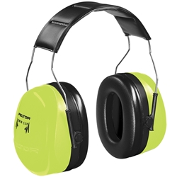 3M™ Peltor™ H10A 33dB CL5 High Vis Headband Earmuff HV 290