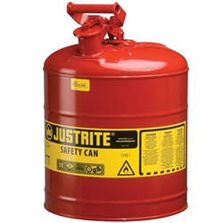 JUSTRITE 19L Type 1 Safety Can 7150100