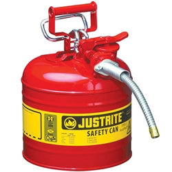 JUSTRITE 7.5L Type 2 AccuFlow™ Safety Dispensing Can 7220120