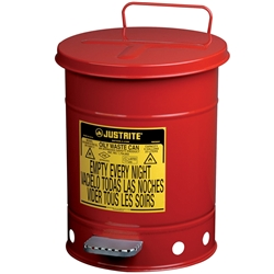 JUSTRITE 23L Oily Waste Safety Can 09100