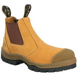 Oliver AT 55 Wheat E/Sided Safety Boot w/ TECtuff Toe Protection 55-322