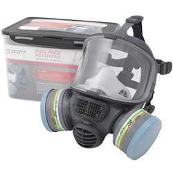 Scott Safety Promask Twin Full Face ReadyPak w/ Pro² Chemical A1B1E1K1/P3 Filters