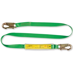 Miller® 1.2m Webbing Lanyard with Energy Absorber L11WEC1.2