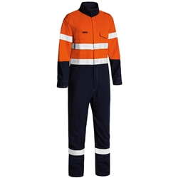 Bisley Tecasafe® Plus Taped Lightweight FR Non Vented Coverall