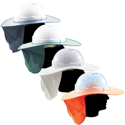 OnSite Safety Plastic Sun Brim with Neck Flap