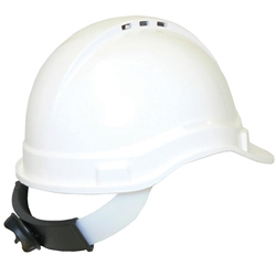 UniSafe® Vented Type 1 ABS Plastic Safety Helmet With Ratchet TA570RH