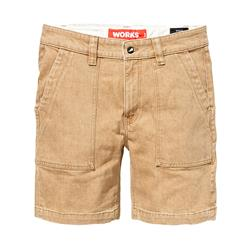 Saint Works Twill Short Light Stone 4056L