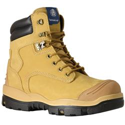 Bata Industrials Longreach Wheat Lace Up Safety Boots