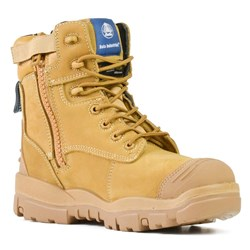 Bata Industrials Longreach Wheat Z/Sided Safety Boots