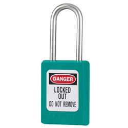 Master Lock® Teal Compact Zenex™ Thermoplastic Safety Padlock w/ Cover S31TEAL