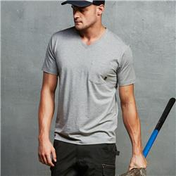 ELEVEN Workwear Essential V-Neck S/S T-Shirt