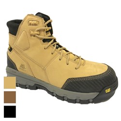 CAT® Device Zip Sided Waterproof Safety Boot
